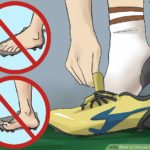 A Firm Step With Soccer Cleats