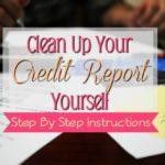 Easy Credit Repair Done Yourself